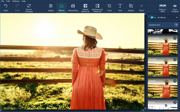How To Remove Any Text from A Photo by Movavi Photo Editor
