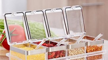 Condiment dispenser is the best accessory to store and pour condiments